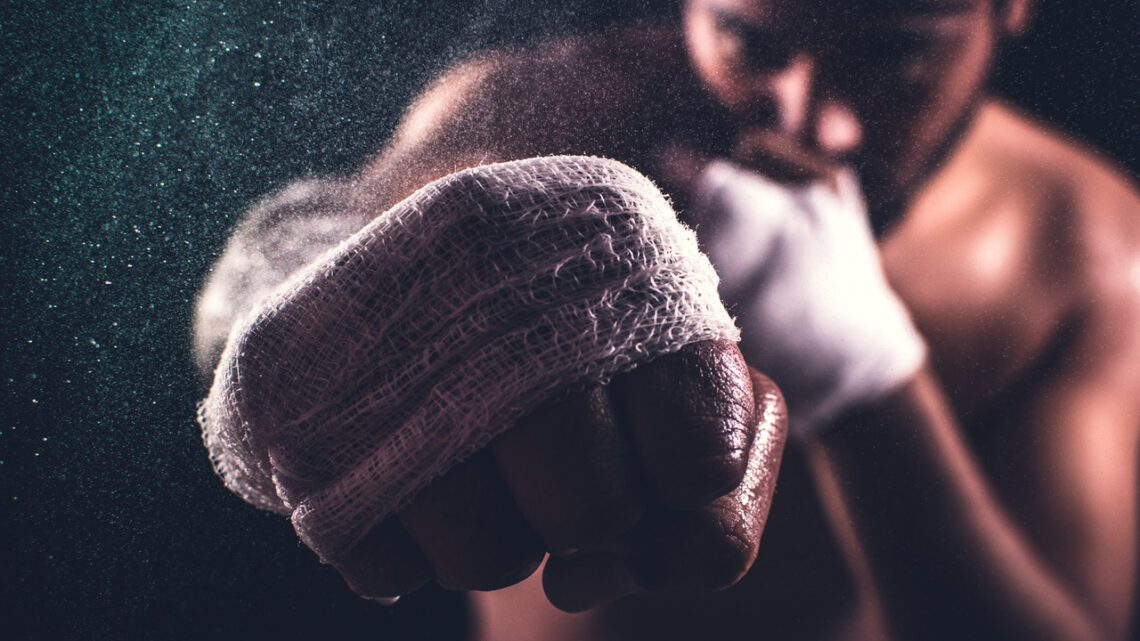 Kickboksen om wat af te vallen